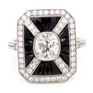 Diamond Engagement Ring 5 Carats Octagon Shape